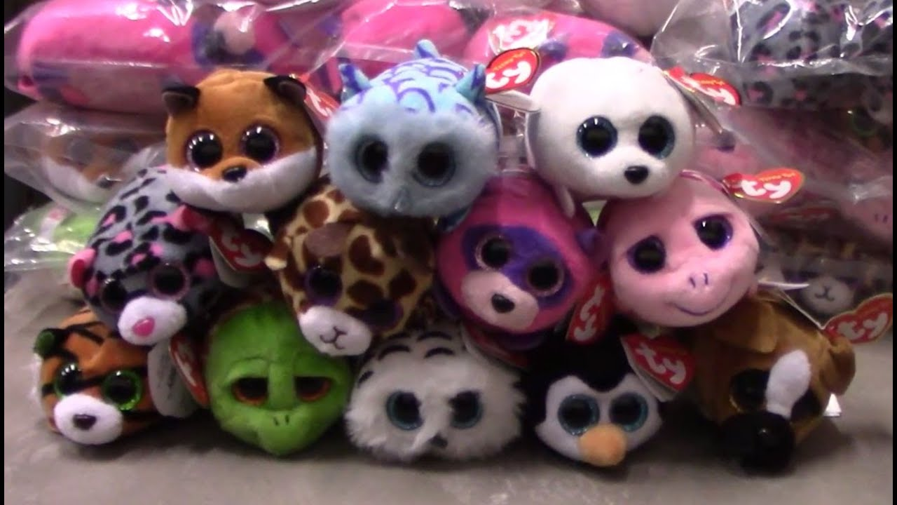 Teeny Ty s - New Beanie Boos Releases Summer 2016 (Set of 12) Review -  BBToyStore.com - YouTube 0d99c3ce12e