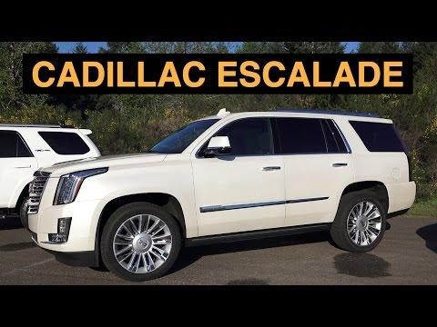 2015 Cadillac Escalade - Track Review & Light Off-road
