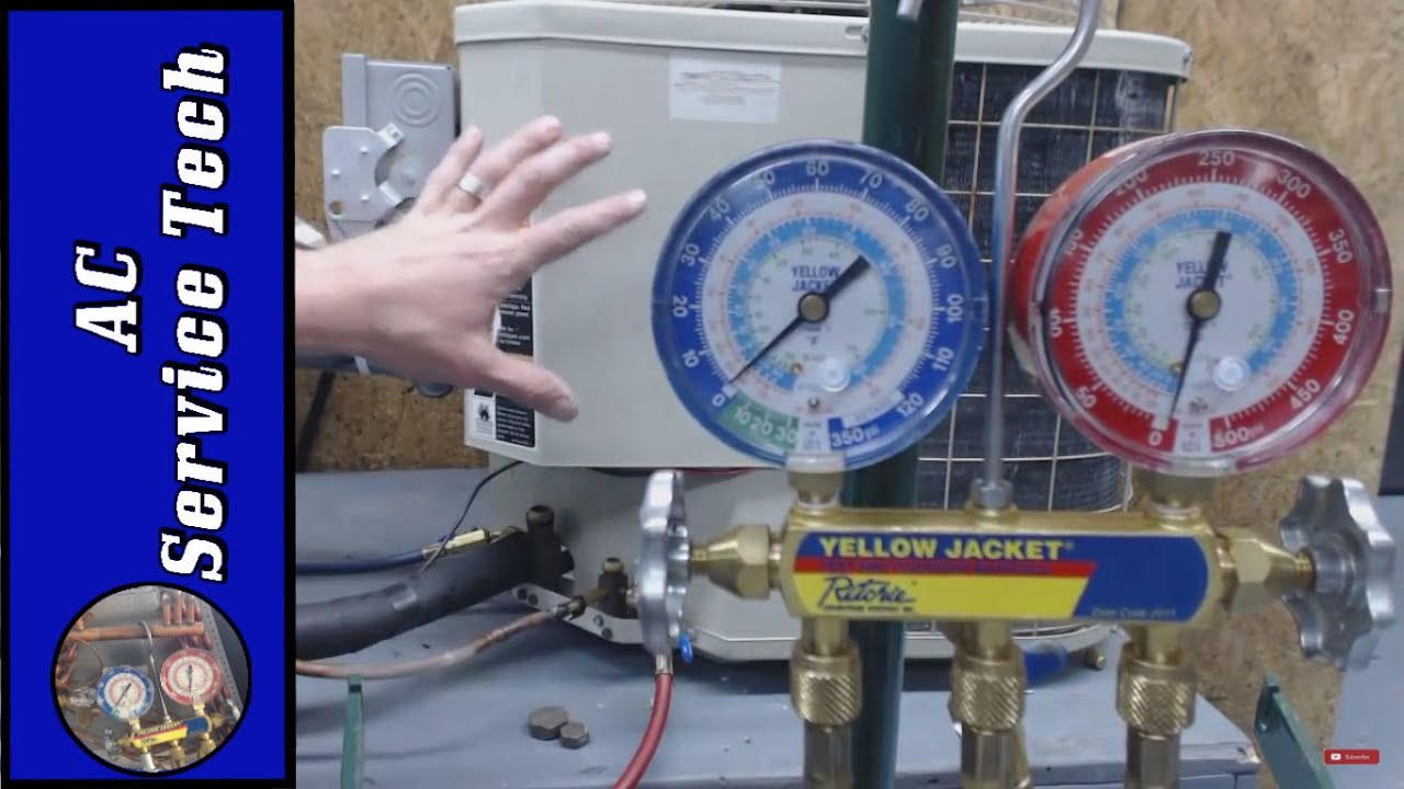 Explaination Of How To Pump Down An Air Conditioner Including Proper Youtube Freezer Compressor Wiring Diagram Guidelines