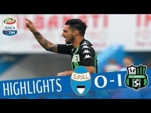 Spal - Sassuolo 0 - 1 - Highlights - Giornata 9 - Serie A TIM 2017/18