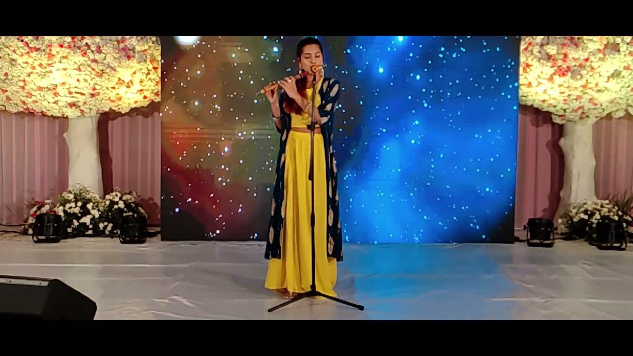 Kal Ho Na Ho- Live in Hyderabad Event July 2021 I Palak Jain Flute I @The Golden Notes