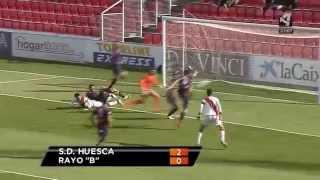 SD Huesca (2-0) Rayo Vallecano 'B' - (29/03/2015)