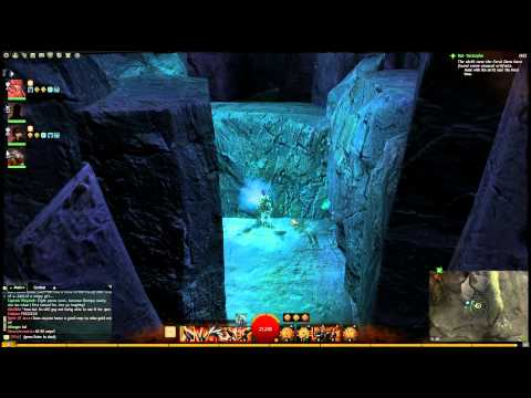 Guild Wars 2 - Lion's Arch Jumping Puzzle! (Dark Caves And Pirate Gear!)