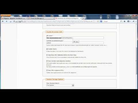 Baixando E Instalando A Loja Virtual Magento Em Pt-br - Tutorial Magentizando