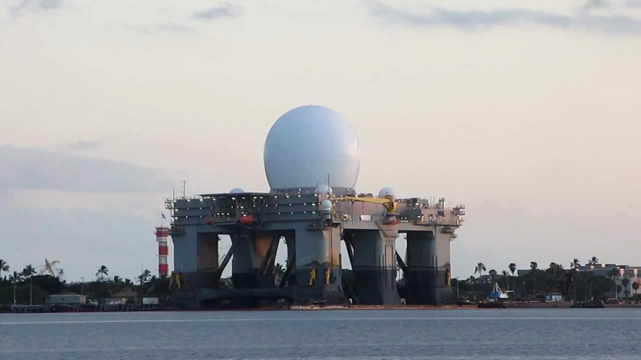 SeaBased XBand Radar Pearl Harbor Oahu Hawaii YouTube - Hawaii radar doppler