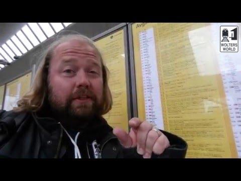 Train Tips: How to Read a European Train Timetable