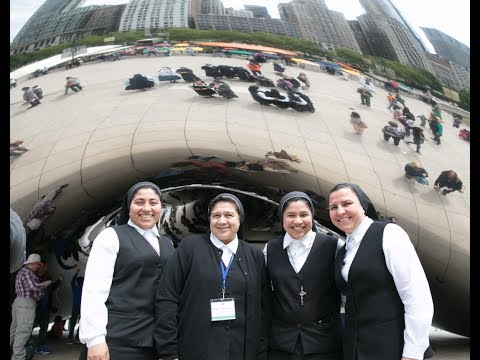 "Catholic Sisters Sing ""Cielito Lindo"" at the Bean in Chicago"
