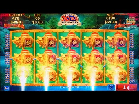 dragon law slot machine with max bet