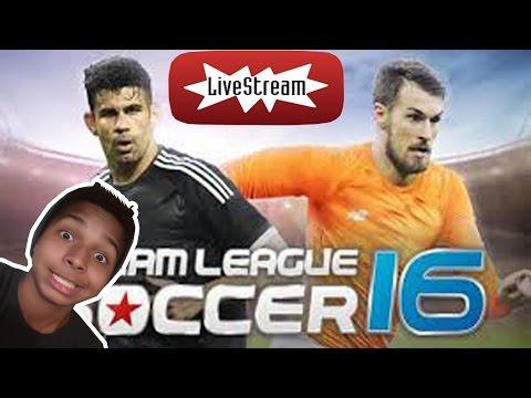 Live de Dream League Soccer pra tentar chegar a divisão de Elite Junior