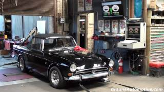 '66 Sunbeam Tiger dyno run