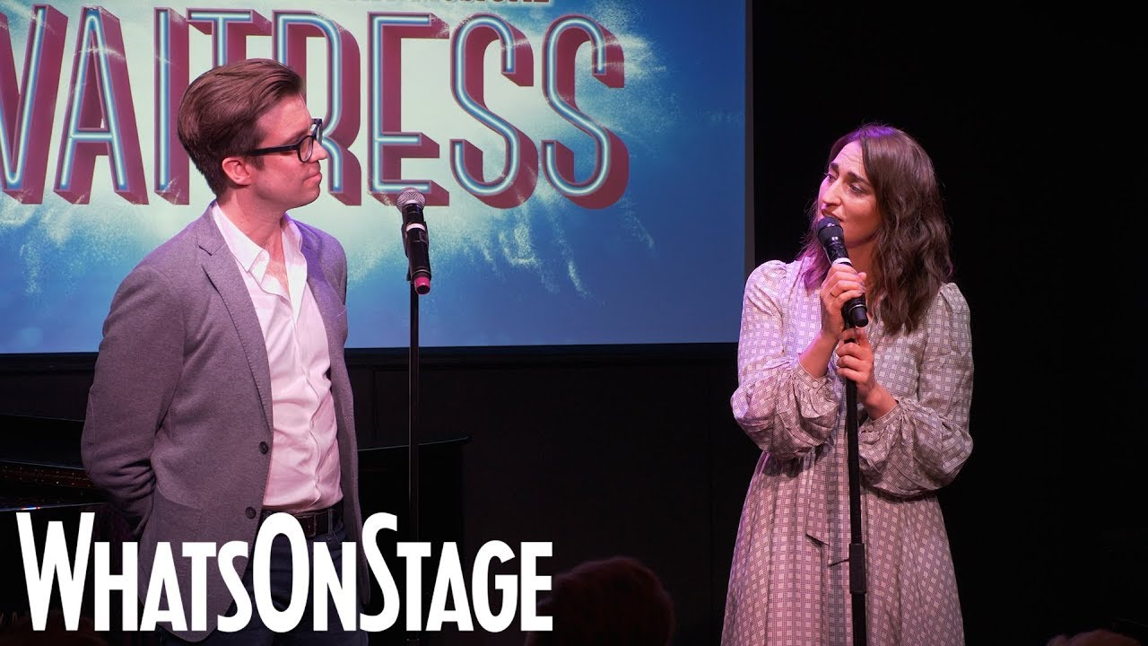 Waitress the Musical West End | Sara Bareilles and Gavin Creel performance