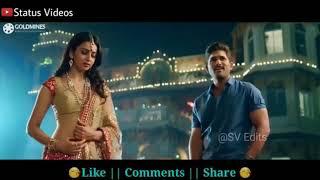 Sarainanadu movie (Allu Arjun comedy with Rakul Preet Singh)