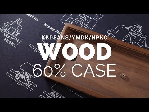 KBDFans Wood 60% Mechanical Keyboard Case Review