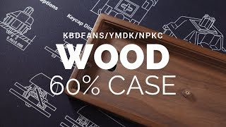 KBDFans Wood 60% Mechanical Keyboard Case Review