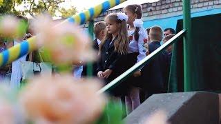 Видеосъемка первого звонка. 1 сентября