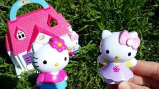 Хэллоу Китти. Китти - модница. Видео для девочек с игрушками(В прошлом видео для девочек, мы познакомились с Китти - садовницей. А сегодня у нас Китти модница. Она расска..., 2016-03-21T08:56:58.000Z)