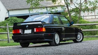 1988 BMW E30 M3 test drive www.LegendCarCompany.com