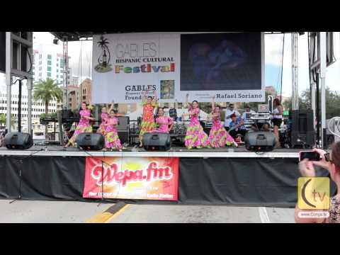Spanish Dance Students from Conchita Espinosa Academy Miami