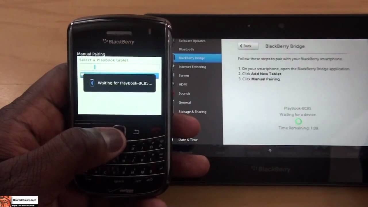 Driver for BlackBerry Tethering Device