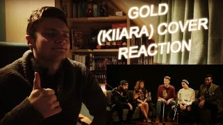 PENTATONIX - GOLD (KIIARA) COVER REACTION