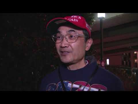 Japanese Trump supporters rally in Tokyo