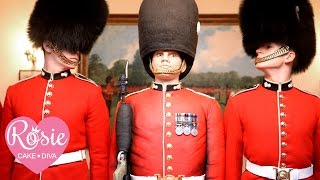 Life Sized Grenadier Guard Cake By Rosie Cake-diva With Mary Berry