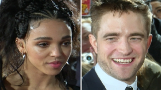 Robert Pattinson & FKA Twigs At The Lost City of Z Premiere