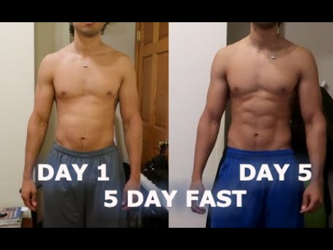 I Try Fasting for 5 days And This Is What Happened | SHRED BELLY FAT