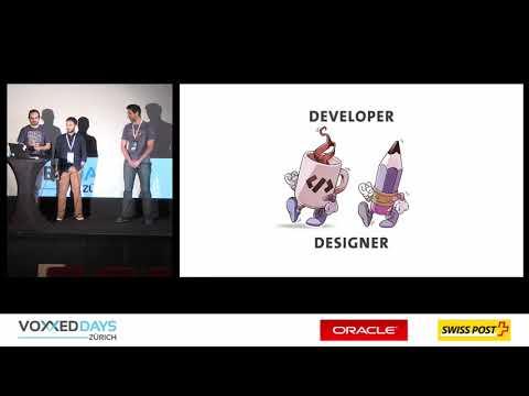 A developer, a designer and a data scientist walk into a bar by Luca Simone,Uros Savic,Maxime Darçot