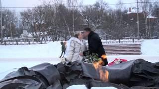 Трейлер к свадьбе! Сергей и Виктория. Сергиев Посад 25.01.2014