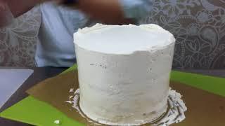 Декор торта первый урок