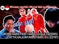 Korean reaction, WORK HARD PRAY HARD (Untuk HATERS) - ATTA HALILINTAR, EITARO, DJ LEZTEY, REAKSI