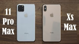 iPhone 11 Pro Max vs iPhone Xs Max - Should you UPGRADE?