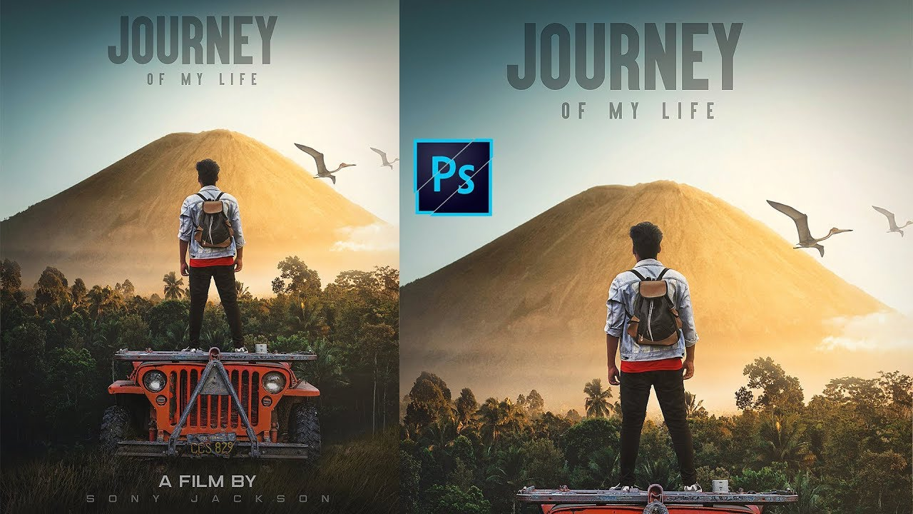 How To Create A Fantasy Photo Manipulation || JOURNEY Of My Life ||  By Sony Jackson