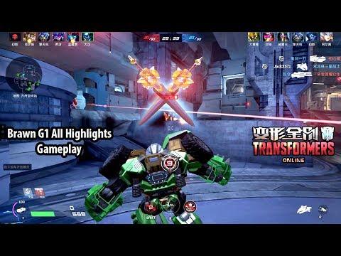 TRANSFORMERS Online 变形金刚 - Brawn G1 All Highlights Gameplay Show vs How to Play