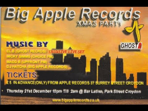 Ghost perform live @ Big Apple Records Xmas party December 2000