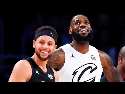 Team LeBron James vs Team Stephen Curry! 2018 NBA All-Star Game