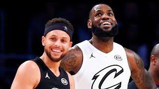 Team LeBron James vs Team Stephen Curry! 2018 NBA All-Star Game