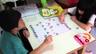 Peter n Esther Playing Chinese Chess 2014 07 01
