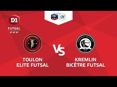 D1 Futsal, Journée 23 - Toulon Elite Futsal / Kremlin Bicêtre - Samedi 7 Avril à 19h45