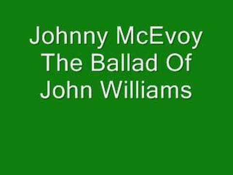 Johnny McEvoy, The Ballad Of John Williams