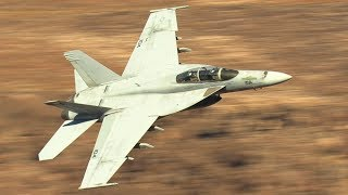 20 Flybys STAR WARS CANYON!