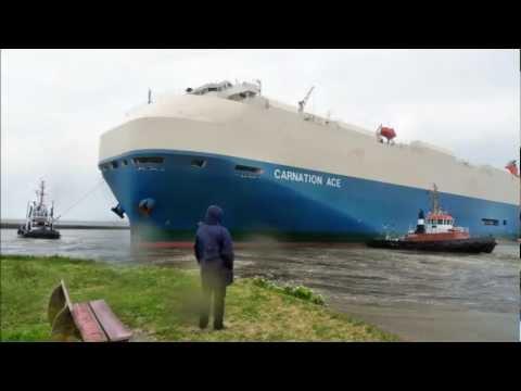 Carnation Ace IMO 9544920 im Hafen von Emden - in Memoriam Baltic Ace R.I.P. Nachruf