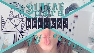 DIY: Decora Tu Cuarto FÁCIL | Around The Corner