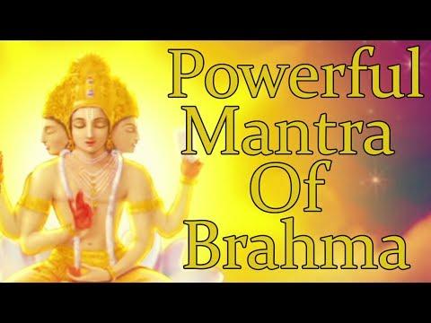 OM BRAHMANE NAMAHA - ( BRAHMA MANTRA ) Powerful Mantra For Knowledge - 1008 Repetitions