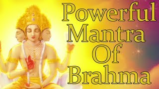 Download OM BRAHMANE NAMAHA - ( BRAHMA MANTRA ) Powerful Mantra For Knowledge - 1008 Repetitions MP3 song and Music Video