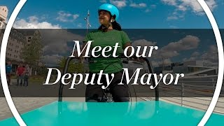 Our new summer intern is the Deputy Mayor