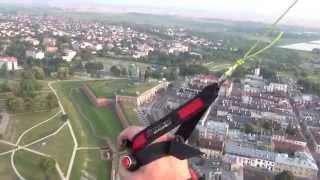 Paragliding Zamość - ;Starówka Zamojska z Ltou Ptaka;