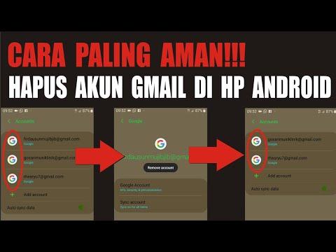 tutorial / langkah mudah keluar/log out atau hapus akun gmail yang sudah tidak digunakan lagi dan atau karna kelebihan akun....