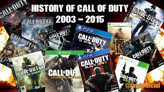 HISTORY OF CALL OF DUTY! 2003 - 2016 (GAMEPLAY HD)